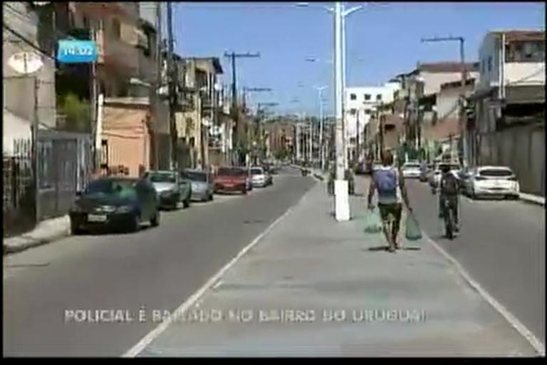 Policial militar é baleado no Uruguai