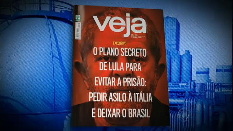 Revista Veja diz que Lula teria plano para se refugiar na Itália por ...