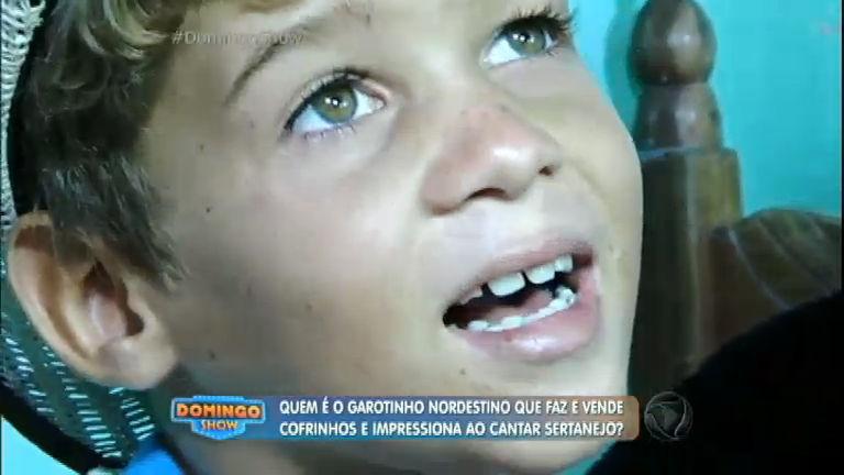 Conheça o garotinho do interior da Bahia que ajuda a família e ...