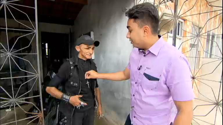 Samukinha desembarca em Fortaleza (CE) para conhecer o homem ...