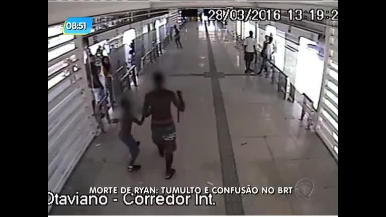 Estação do BRT é depredada durante protesto em Madureira; veja ...