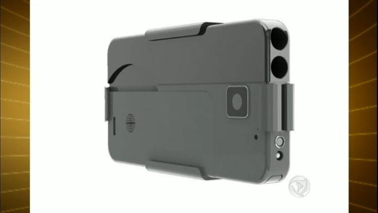 Polêmica: arma em forma de celular deverá ser comercializada nos ...
