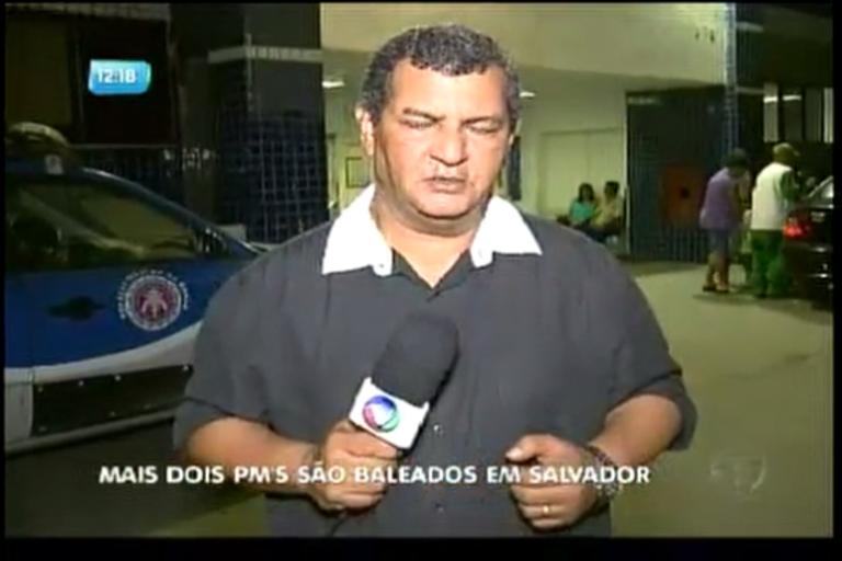 Dois PMs são baleados em Salvador