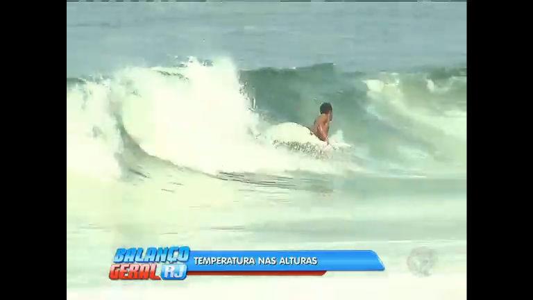 Apesar da chegada do outono, cariocas enfrentam altas temperaturas