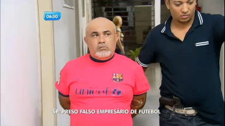 Falso empresário de futebol é preso em São Paulo - Notícias - R7 ...