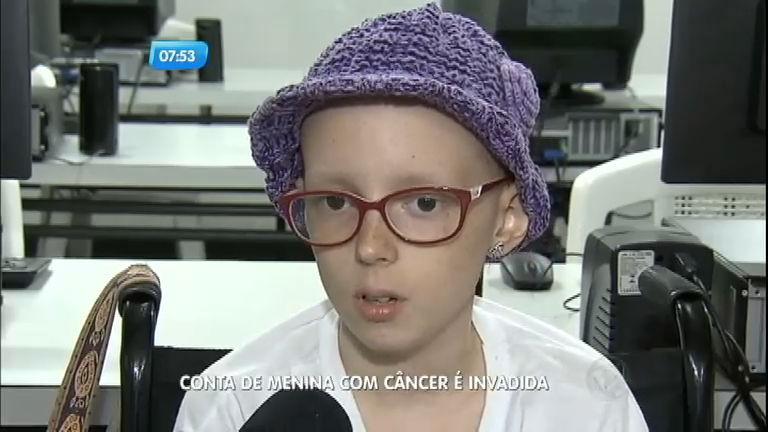 Canal Careca TV, de menina com câncer, é hackeado e tem ...
