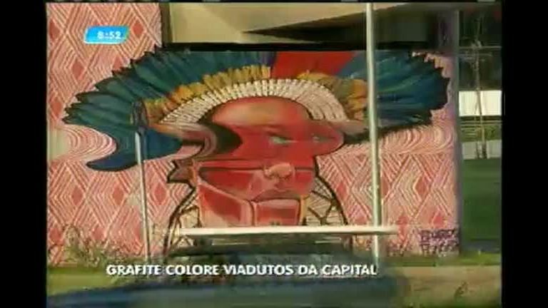 Grafite colore viadutos de Belo Horizonte - Minas Gerais - R7 MG no ...