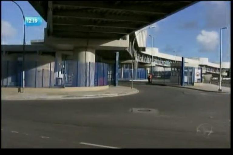 População reclama da insegurança na Estação Pirajá