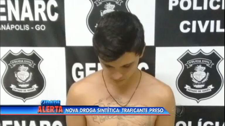Jovem de 19 anos é preso por traficar drogas sintéticas em Anápolis ...