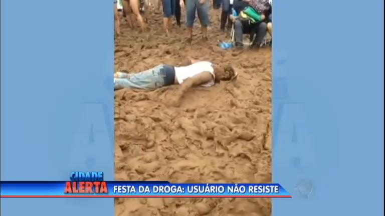 Sob efeito de droga sintética, homem morre com o rosto na lama no ...