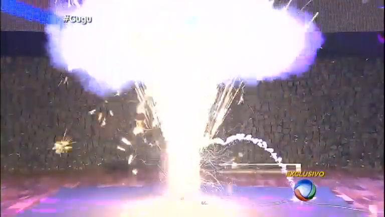 Gugu faz teste com sinalizador que causou incêndio na Boate Kiss ...