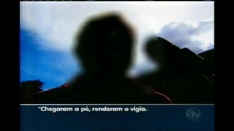 Ladrões roubam 180 rodas e equipamentos - Minas Gerais - R7 MG ...