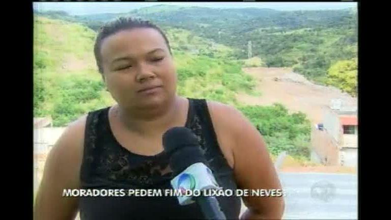 Moradores pedem fim do lixão de Ribeirão das Neves - Minas ...