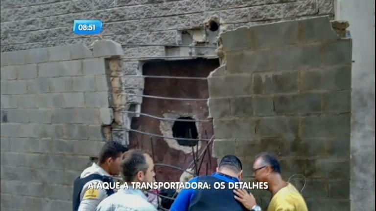 Mega- assalto a transportadora de Santos (SP) termina com três ...