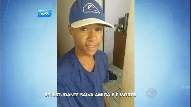 Estudante salva amiga e é morto na porta de escola na zona leste ...