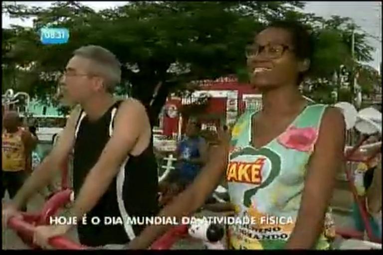 Dia Mundial da Atividade Física - Bahia - R7 Bahia no Ar