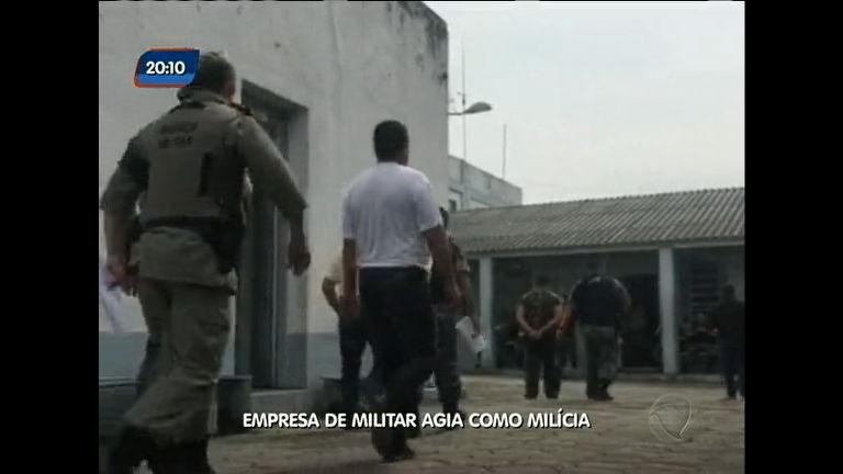 Empresa de militar agia como milícia - Rio Grande do Sul - R7 Rio ...