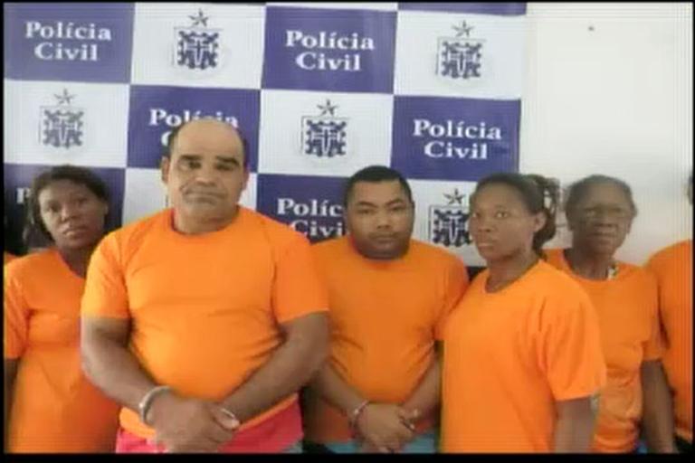 Oito traficantes presos em Feira de Santana - Bahia - R7 Cidade ...