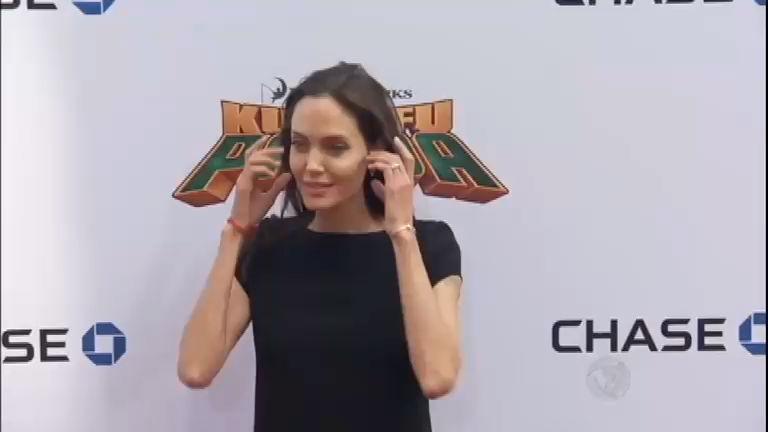 Tabloide afirma que Angelina Jolie está internada com anorexia ...