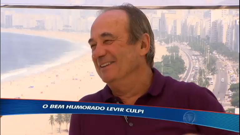 Técnico Levir Culpi fala sobre o desafio de comandar o Fluminense ...