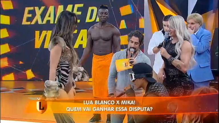 Estava com saudades? Lua Blanco e Mika Borges participam do ...