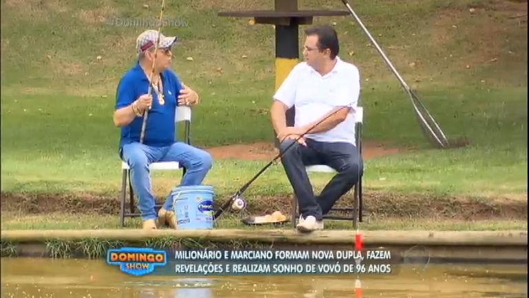 Lendas do sertanejo, Milionário e Marciano foram nova dupla e ...