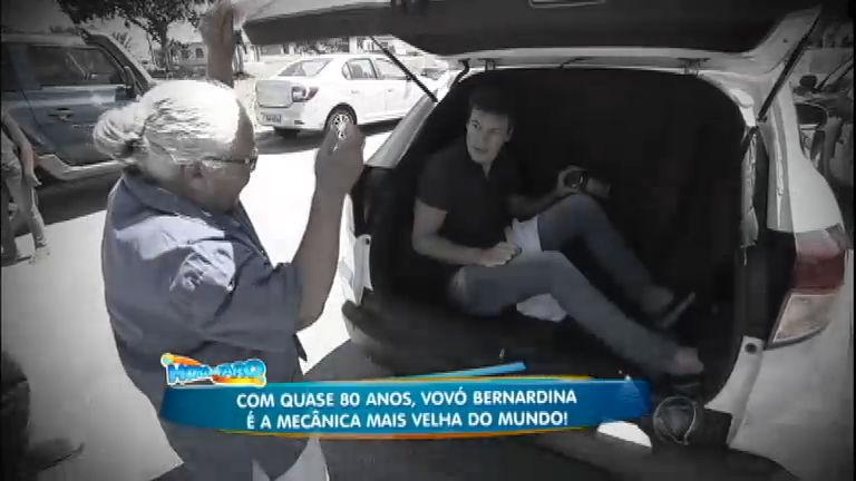 Rodrigo Faro conhece a mecânica mais velha do mundo ...