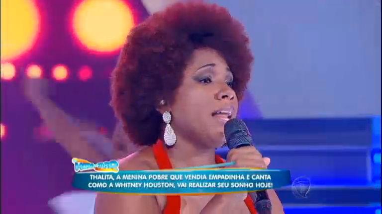 Thalita Pertuzatti, a Whitney Houston brasileira, realiza sonho e dá ...