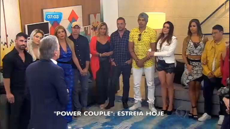 Power Couple Brasil: reality de confinamento de casais estreia ...