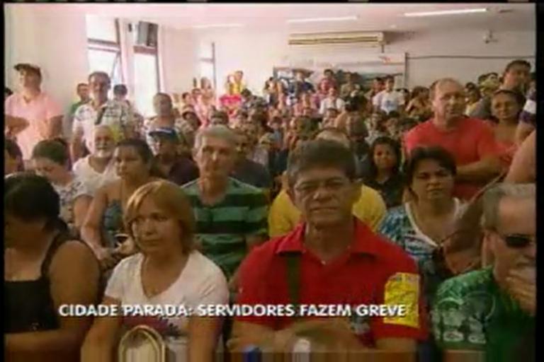Servidores municipais entram em greve em Divinópolis (MG ...