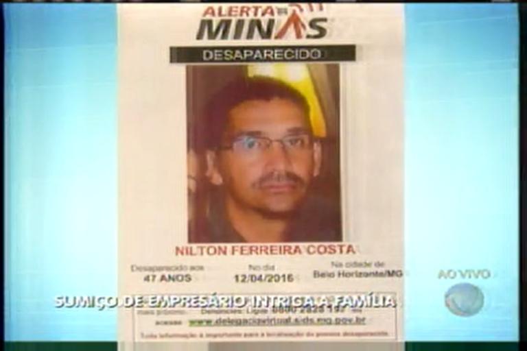 Sumiço de empresário intriga família - Minas Gerais - R7 MG Record
