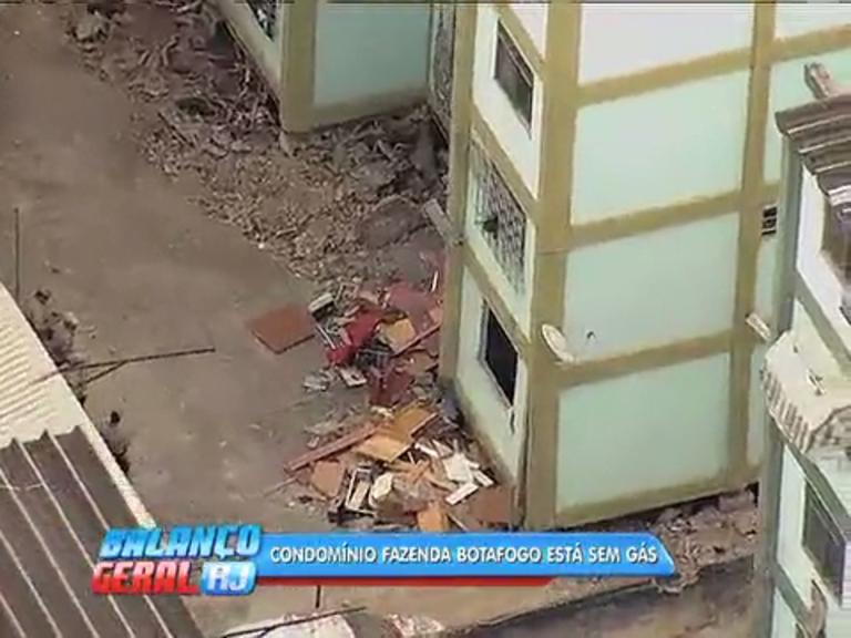 Vizinhos do prédio que explodiu em Fazenda Botafogo estão sem ...