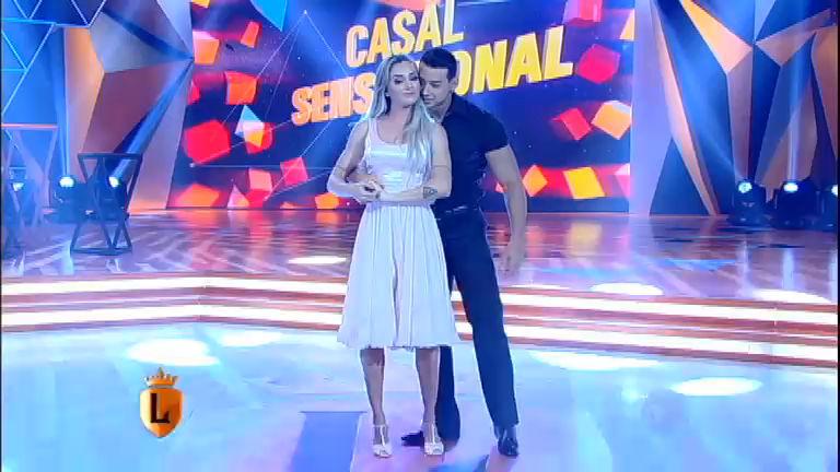 Casal Sensacional: Juju e Felipe Franco dançam Time of my Life no ...