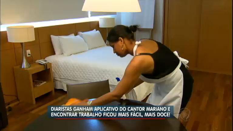 Cantor sertanejo investe em aplicativo que ajuda domésticas no ...