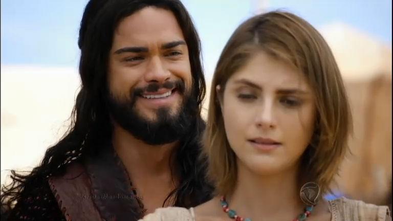 Josué pede Ana em casamento - Entretenimento - R7 Os Dez ...