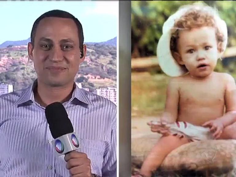Balanço Geral RJ mostra fotos da infância de apresentadores e ...