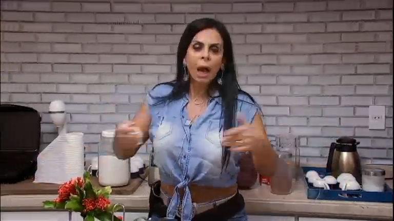 Gretchen fica uma fera com sujeira na casa do Power Couple Brasil ...