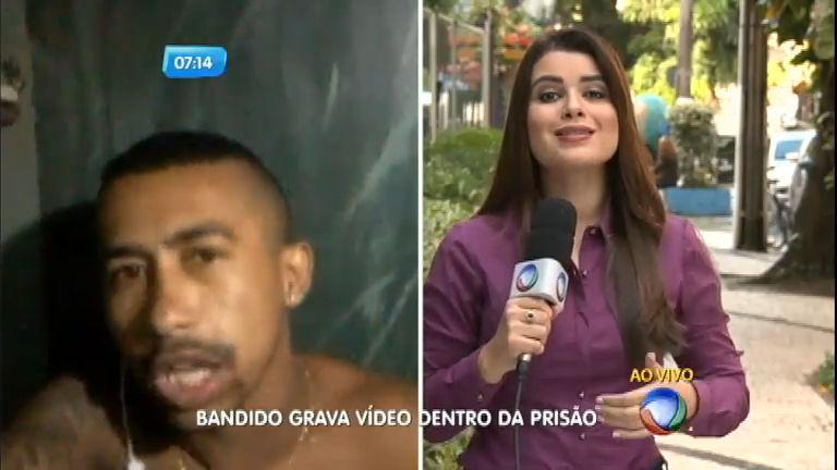 Detento grava vídeo de dentro da prisão em Belém (PA) - Notícias ...