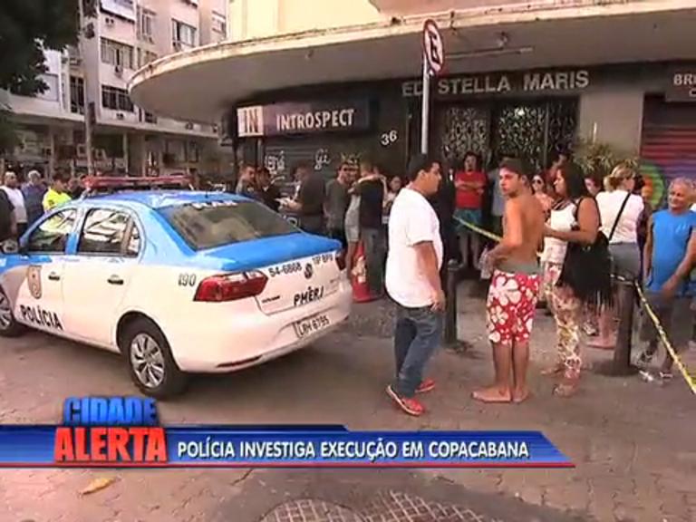 Polícia afirma que homem morto em Copacabana foi executado ...