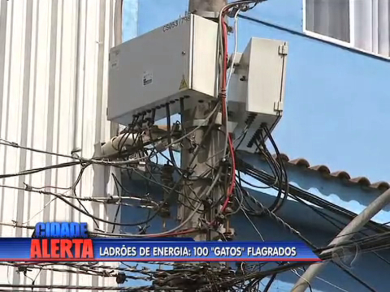 Polícia faz operação contra furto de energia na Baixada Fluminense ...