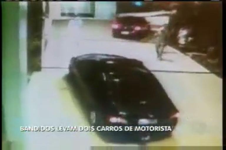 Bandidos levam dois carros de motorista - Minas Gerais - R7 MG ...