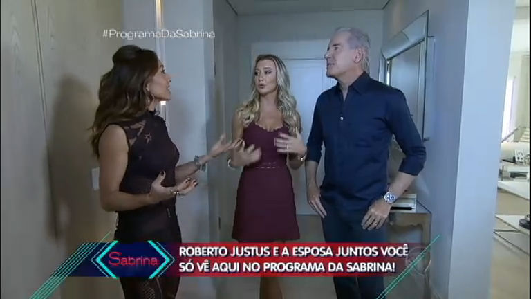 Sabrina Sato invade a casa de Roberto Justus e Ana Paula Siebert ...