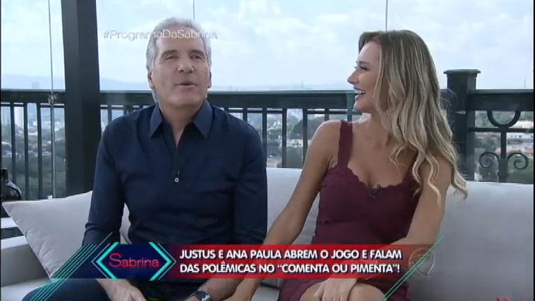 Comenta ou Pimenta: Roberto Justus e Ana Paula Siebert abrem o ...