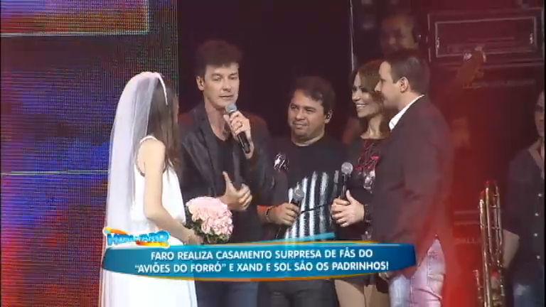 Faro promove casamento surpresa de fãs do Aviões do Forró ...