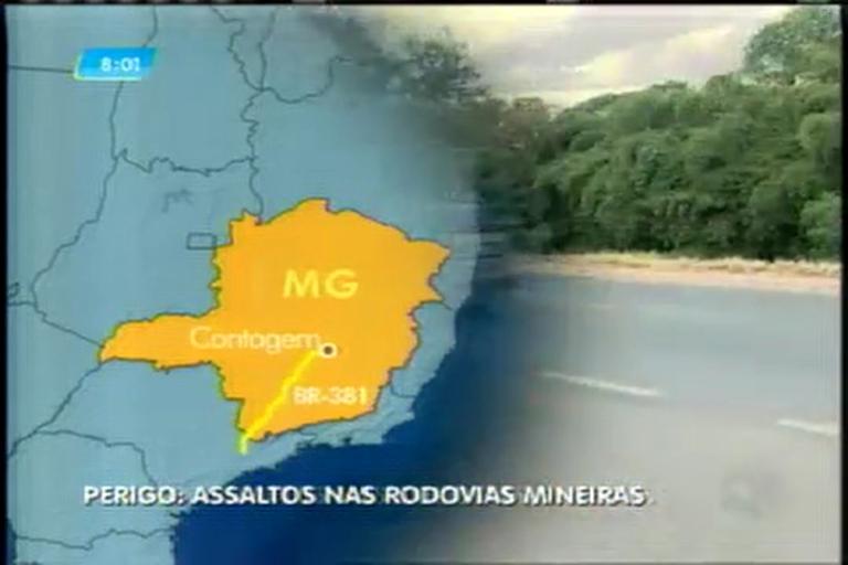 Aumenta número de assaltos nas rodovias de Minas Gerais - Minas ...