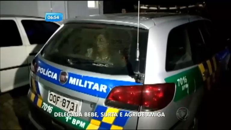 Bêbada, delegada é presa após agredir amiga em bar de Goiânia ...