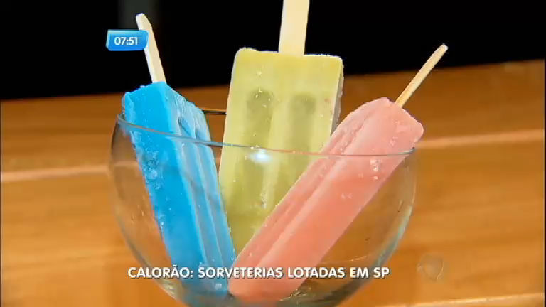 Devido ao calor, sorveterias lucram mais no outono do que no verão ...