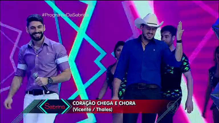 Dupla Thales e Vicente faz lançamento oficial no Programa da ...