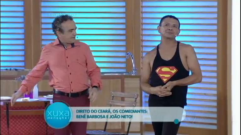 Direto do Ceará, humoristas Bené Barbosa e João Neto levam o ...