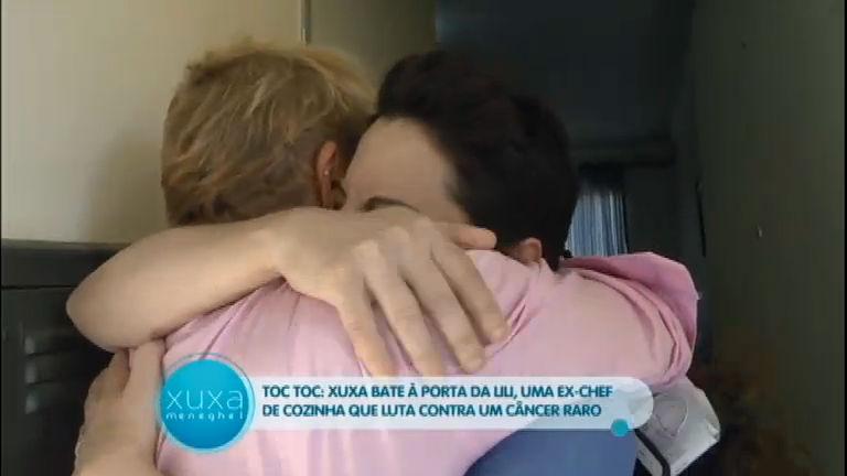 Toc Toc: Xuxa surpreende ex-chefe de cozinha que luta contra ...